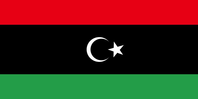 Imagen 3: Nueva bandera de Libia. Fuente: Geografiasubjetiva.com