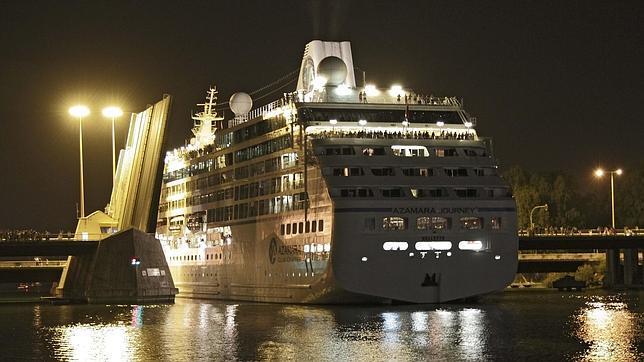 Crucero Azamara, foto de EFE Raul Caro
