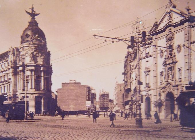 Gran Vía, Madrid, 1913