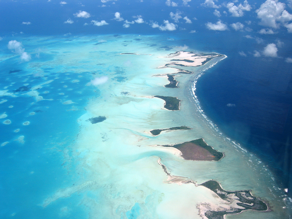 Figure 2: Atolls of Kiribati. Source: viajes.net
