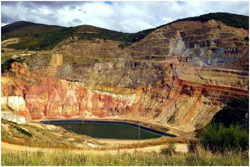 Mina de Belmonte, Asturias. Fuente: Antonio Alba. Panoramio