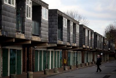 Viviendas de protección oficial en el barrio londinense de Brixton.