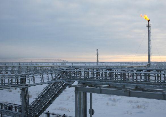 Imagen 4: Plataforma de gas natural. Fuente: TheMoscowTimes.com