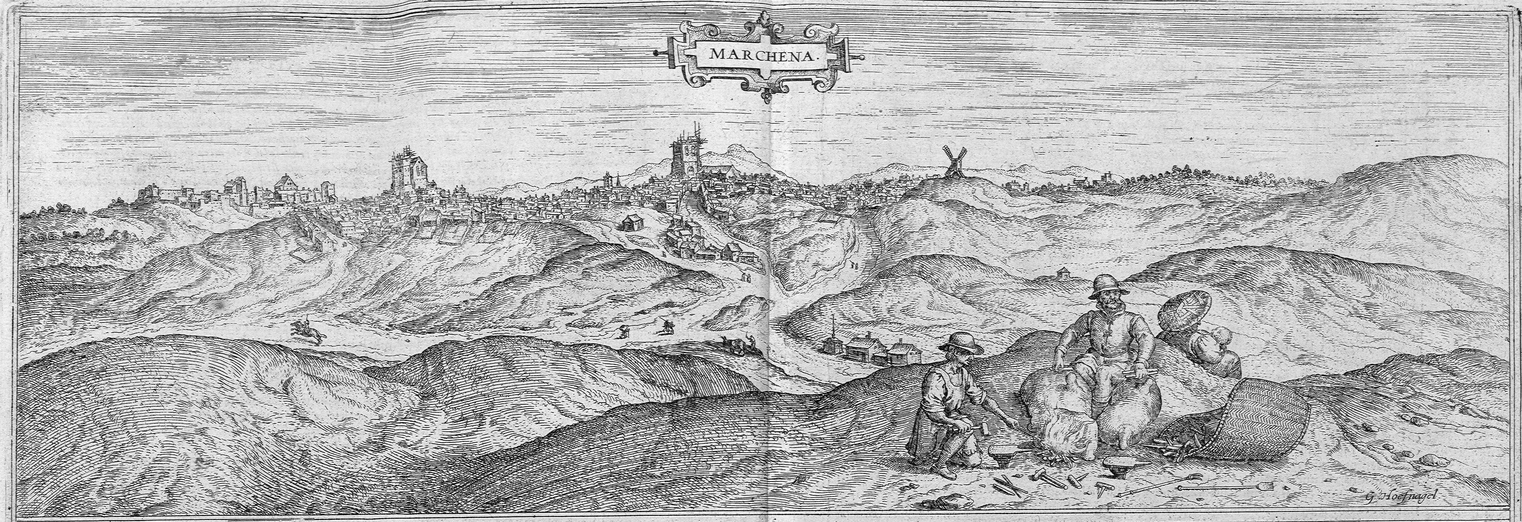 Imagen 5: Grabado de Georg Hoefnagel para el Civitates Orbis Terrarum de Braun (1565) Autor: Archivo
