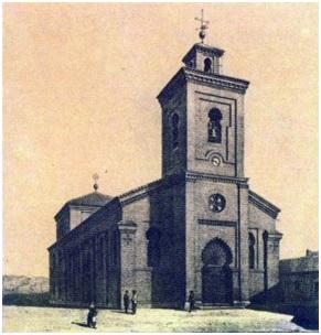 Iglesia de San Matías. Fuente: http://www.sanmatias.net/Parroquia/Presentacion.php