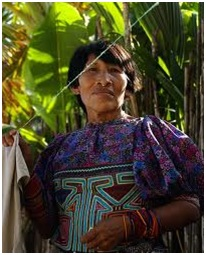 Figure 4: Kuna woman. Source: caxigalinas.blogspot.com.es