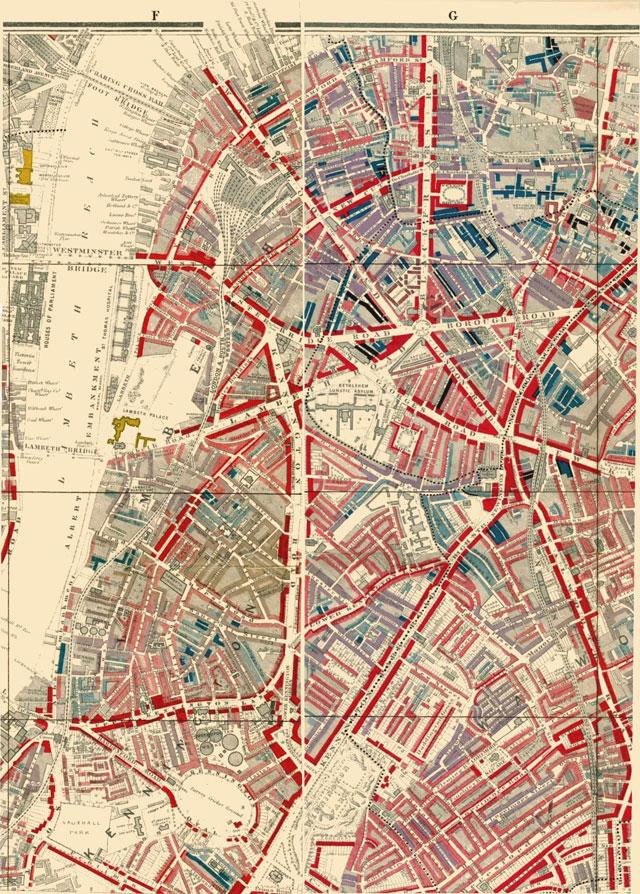 mapa probreza lambeth sXX