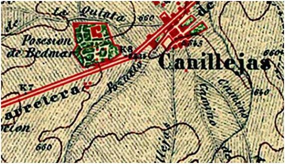 Plano de Canillejas 1877-1881