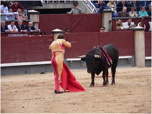 Corrida de toros. Fuente: Wikipedia