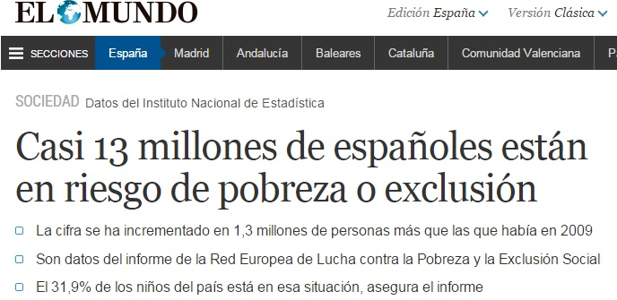 Fuente: El Mundo. 11 febrero 2015