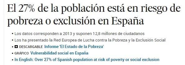 Fuente: El País. 10 febrero 2015