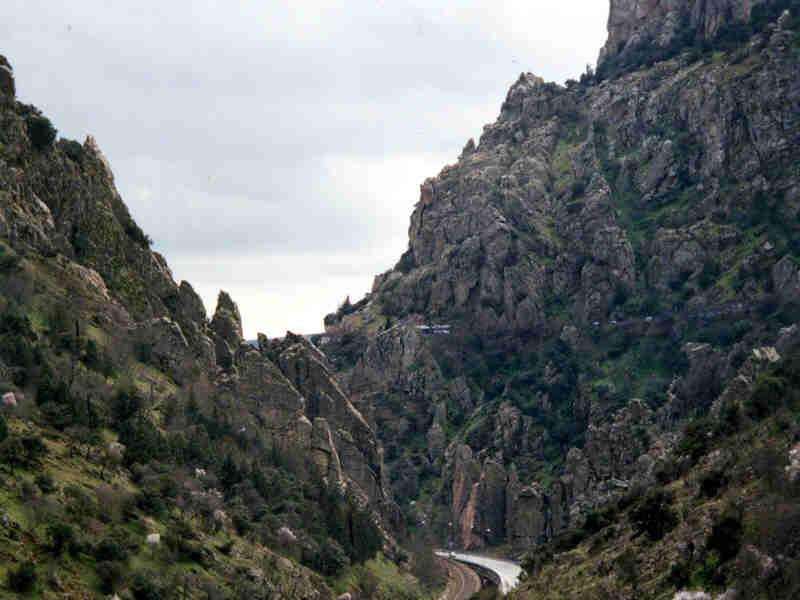 Despeñaperros (Jaén) Fuente: Andalucia.org