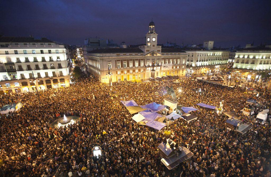 15M en la Puerta del Sol