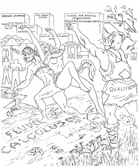 """El rapto de la Geografía (según L. Curry, """"Canadian Geographer"""""""