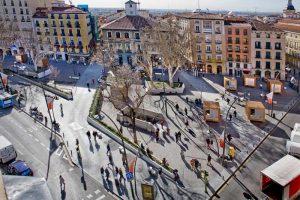 Plaza de Tirso de Molina. Madrid